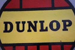Dunlop Tyre Double Sided Enamel Advertising sign