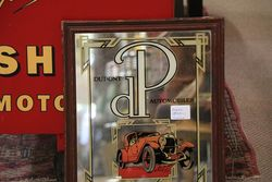 Dupont DP Automobiles Wooden Framed Mirror