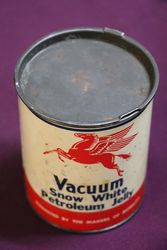 Early 1 lb Vacuum Snow White Petroleum Jelly