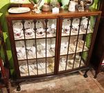 Early 20th Century 2 Door Display Cabinet English C1920