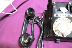Early Bakelite Telephone