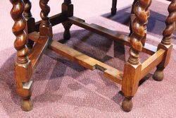 Early C20th Oak Gate Leg Table