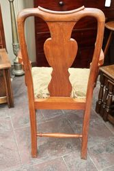 Early C20th Walnut Queen Anne Style Carver Chair