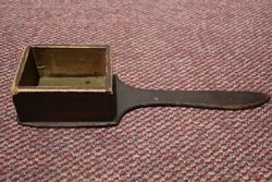 Early Church Money Collection Paddle