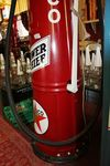 Early Gilbert + Barker Visible Conical Petrol Pump