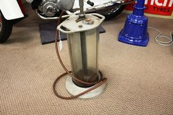 Early Glass Cylinder RedEx Oil Dispenser