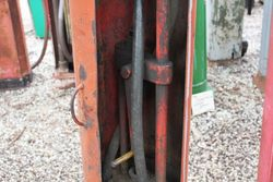 Early Hand Operated MAnual Petrol Pump For Restoration