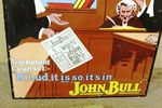 Early John Bull Pictorial Enamel Advertising Sign