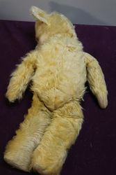 Early Pedigree Plush Bear Jointed Body With Growler