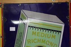 Early Pictorial  Richmond Gem Enamel Sign