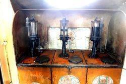 Early Pratts 3 Pump Bread Bin Cabinet