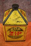 Early ROP ZIP 1 Gallon Tin
