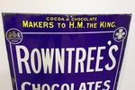 Early Rowntrees Chocolates + Pastilles Enamel Sign