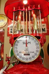 Early Siam Manual Petrol  Pump in Texaco Livery