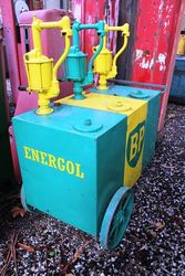Early Triple Pump Cart in BP Livery