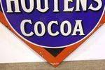 Early Van Houtens Cocoa Enamel Sign