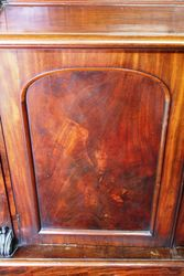 Early Vic Mahogany 2 Door Bookcase