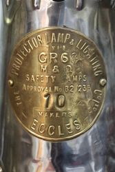 Eccles Protector Type GR6S Miners Lamp