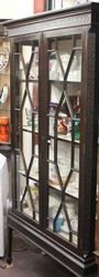 Edwardian 2Door Mahogany Display Cabinet