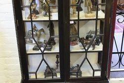 Edwardian 2 Door Display Cabinet