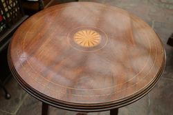 Edwardian Inlaid Table