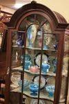 Edwardian Mahogany Display Cabinet