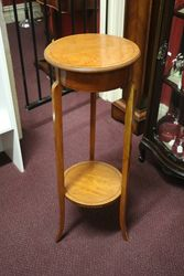 Edwardian Satinwood Pedestal