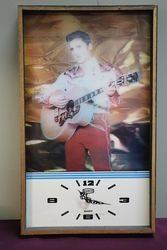 Elvis Presley Vintage 1970s Love Me Tender 3D Lenticular