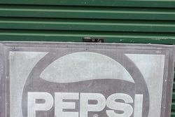 Embossed Pepsi tin Advertising Sign