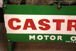 Enamel Front Castrol Z 12 Bottle Oil Rack