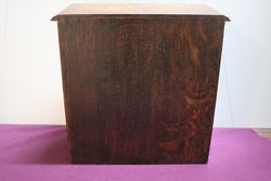 English Oak 2 Door Smokers Companion C190010