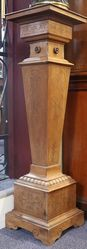 English Walnut Pedestal 19th Century
