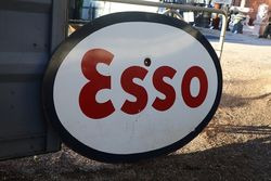Esso Double Sided Enamel Advertising Sign