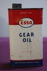 Esso One Pint Gear Oil Tin