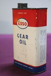 Esso One Pint Gear Oil Tin