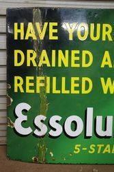 Essolube Pictorial Enamel Sign