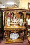 Exceptional Well Carved French Consul Cabinet C186080