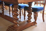Exceptional and Large Solid Walnut Dining Table