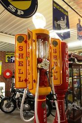 Extremely Rare Satam 4 Door Cabinet Petrol Pump