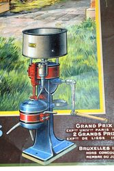 Farming Poster Antique Edm Garin Pictorial Poster