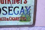 Faulkners Nosegay Tobbacco Tin Sign
