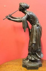 Fine Bronze Figure Muse des Bois