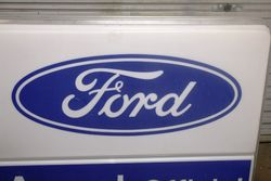 Ford Agent Double Sided Advertising Light Box
