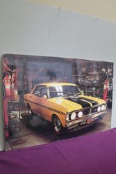 Ford Falcon 351GT Pictorial Advertising Sign