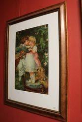 Framed Pears Print