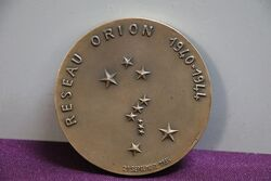 French Commemorative Medallion