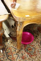 French Drawer Leaf Table