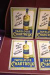 French Embossed Tin Oil Advertising Signs