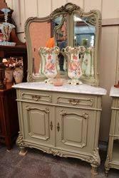 French Provincial Corner Dresser