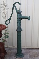 French Style Cast Iron Garden Well Pump